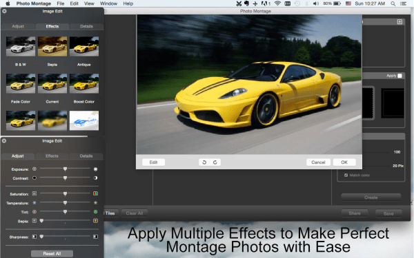 Photo Montage Mac - Photo Editing Software - 20% off Mac