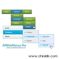 All-Web-Menus-Pro