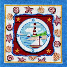 Cross stitch pattern FREE download in PDF file with seascape