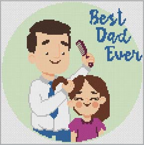 Cross stitch pattern with FREE download instantly in PDF file, to