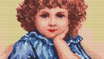 Cross stitch pattern FREE download in PDF file with little