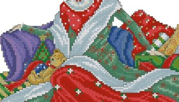 Cross stitch pattern with FREE download instantly in PDF