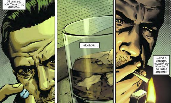 Issue Two Of The Max Payne 3 Comic Has Alcohol Depression