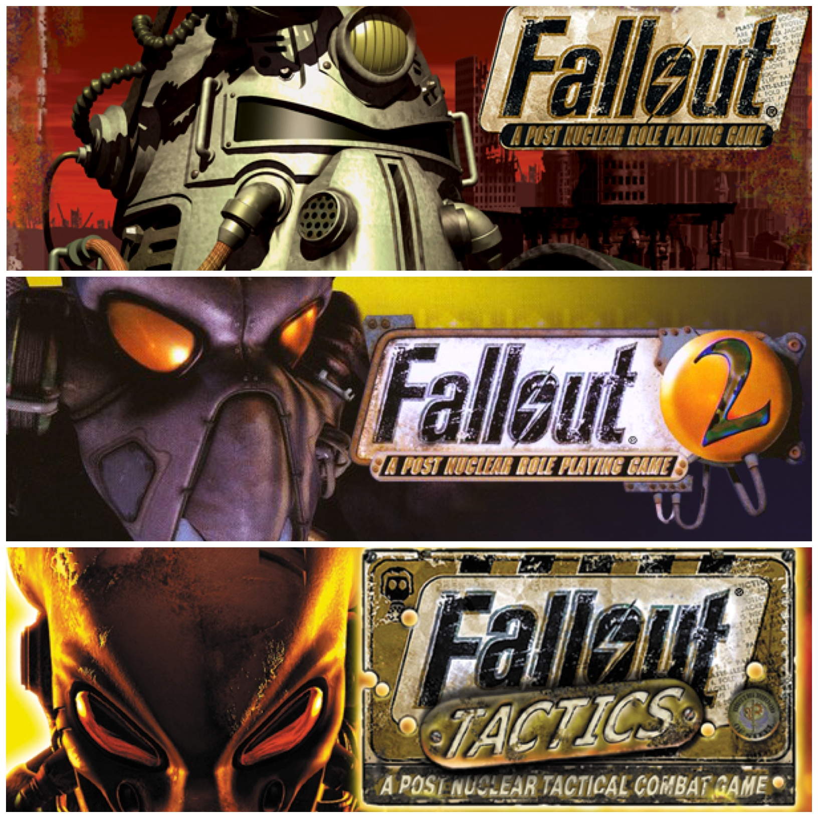 The Original Fallout Trio Has Returned To Steam