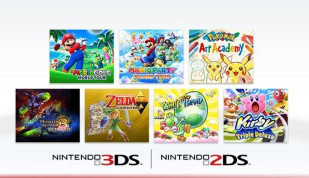 Nintendo Offering Free Game For Registering Your 3DS 2DS