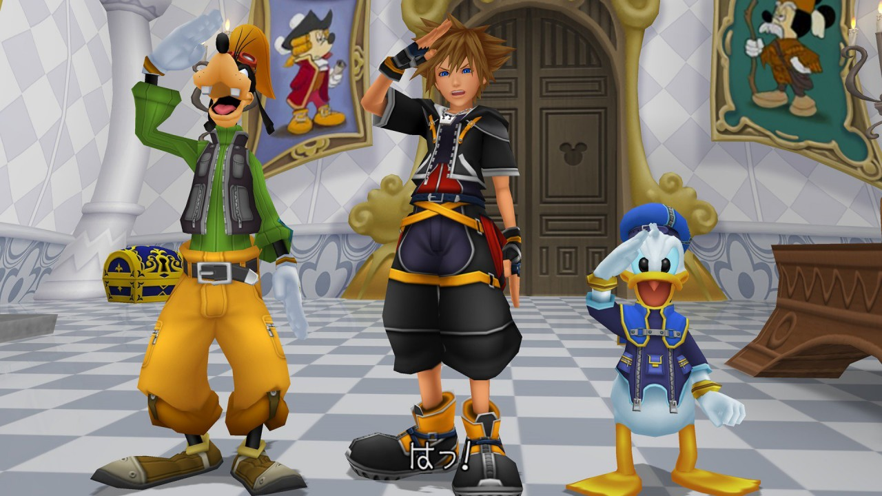 Image result for kingdom hearts 2 final mix ps4 screen shots