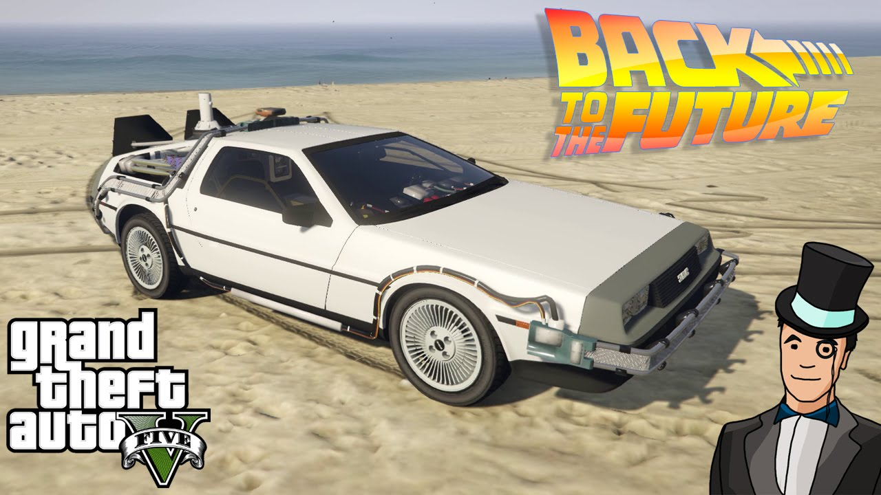 GTA V Has Found Its Best Mod In Back To The Future