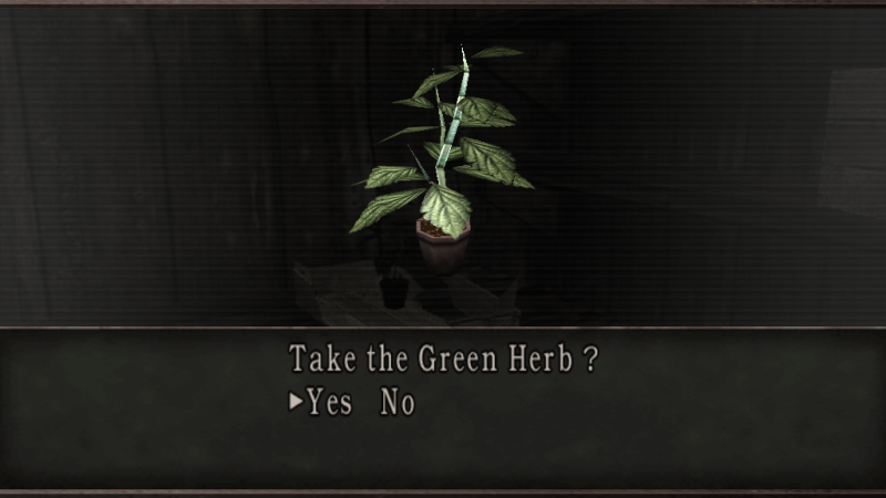 The Green Herb Is Returning In Resident Evil 7