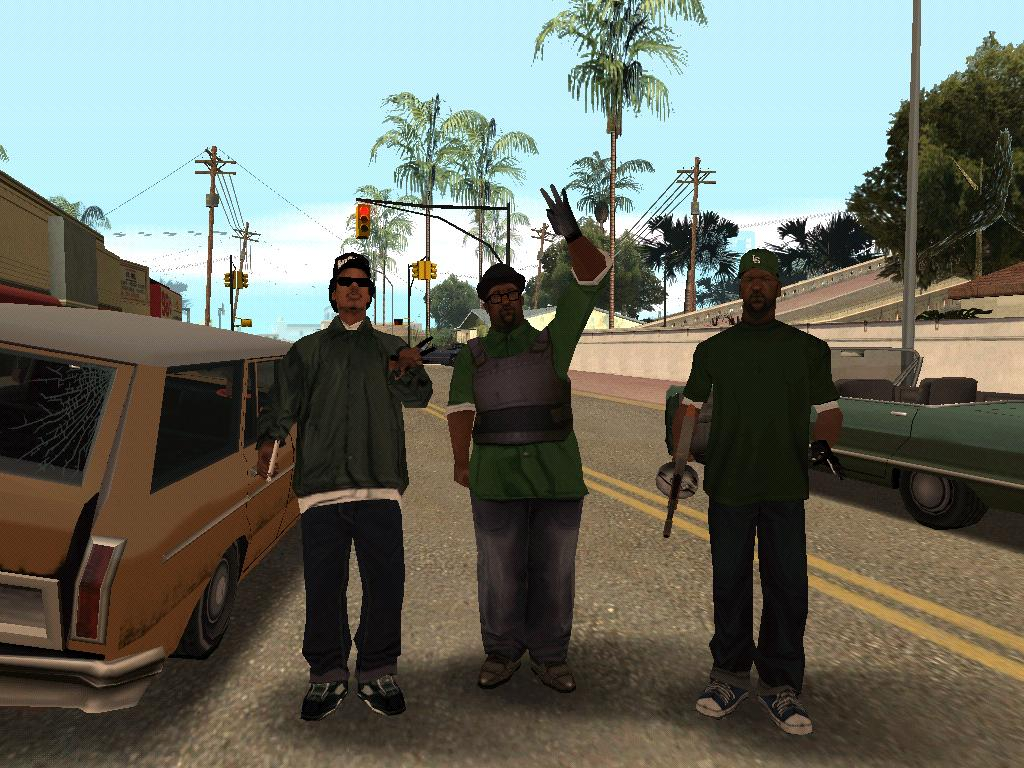 Cars St Gang 5 Gta Grove