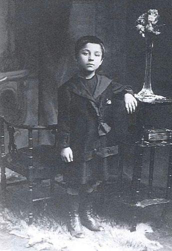 Cesare Pavese bambino