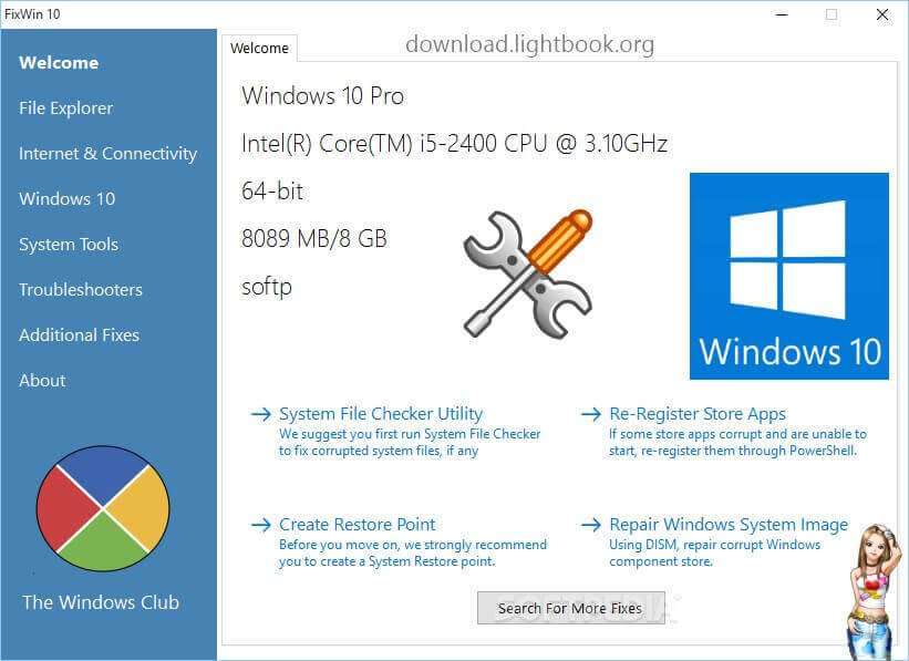 Download FixWin 10 to Solve & Fix PC Problems on Windows 10 for Free