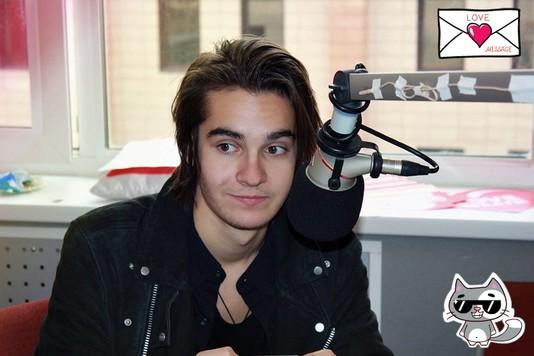 Никита Киоссе стал ведущим Love Radio MBAND Никита Киоссе.