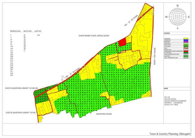 Kuchia Khana Map
