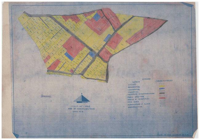 Karimganj Town Land Use Map Ward-4