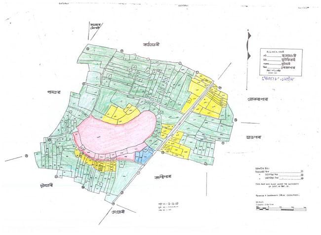 Bhadeyaguri Map