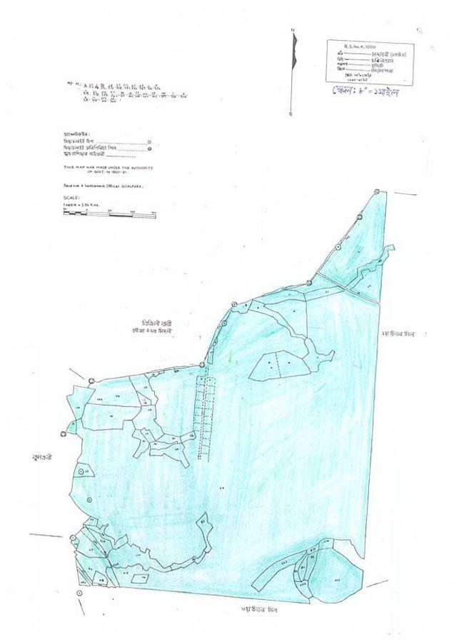 Chandamari Map-1