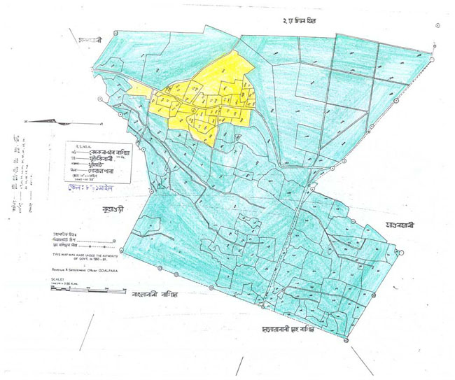 Kokrajhar Bagicha Map-1