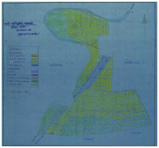 Balikuria Kharjara Land Use Plan Map