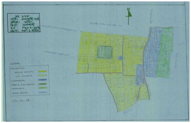 Nalbari Gaon Use Plan Map