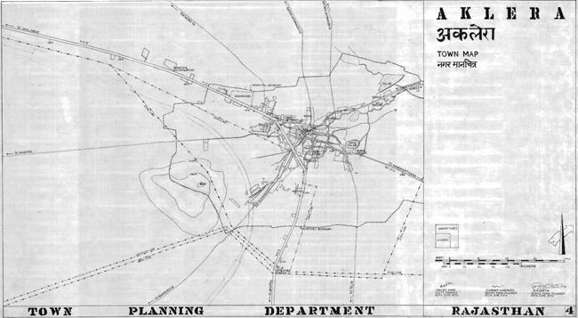 Aklera Town Map