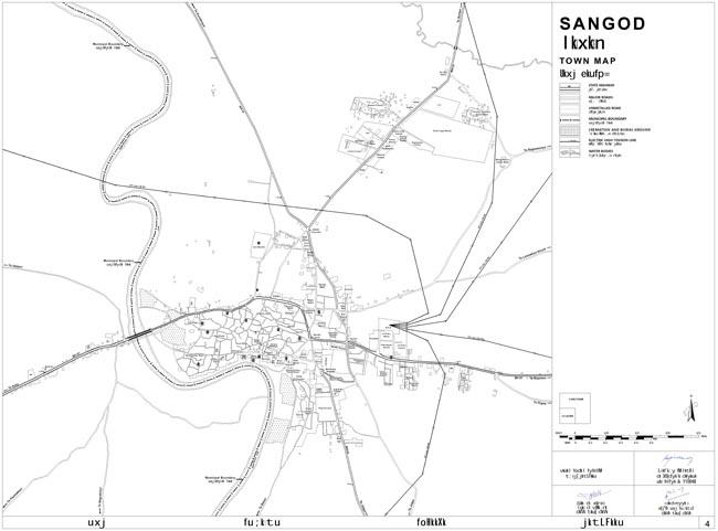 Sangod Town Map