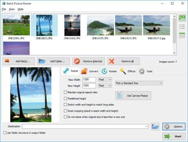 Download Batch Image Resizer for windows 7, 10 32/64 bit.