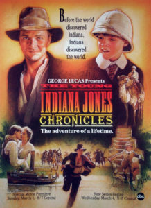 """Affiche """"The Young Indiana Jones Chronicles"""""""