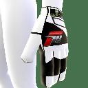 White Racing Glove