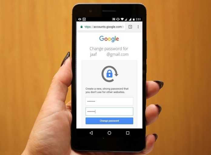 forget password google email