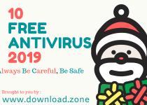 10 Free ANTIVIRUS 2019