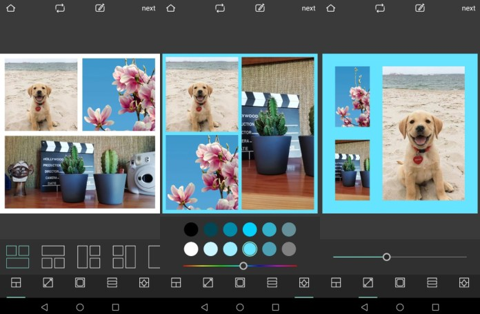 collage pixlr app