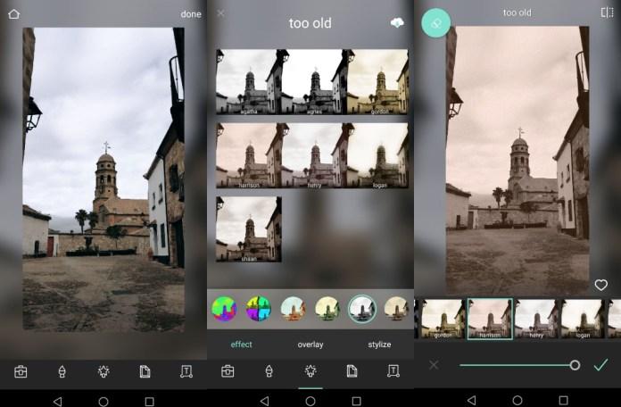 dark and light effect pixlr app