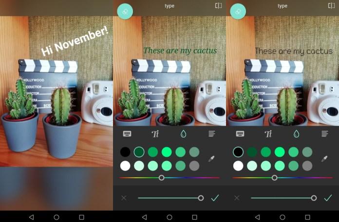text effect pixlr app