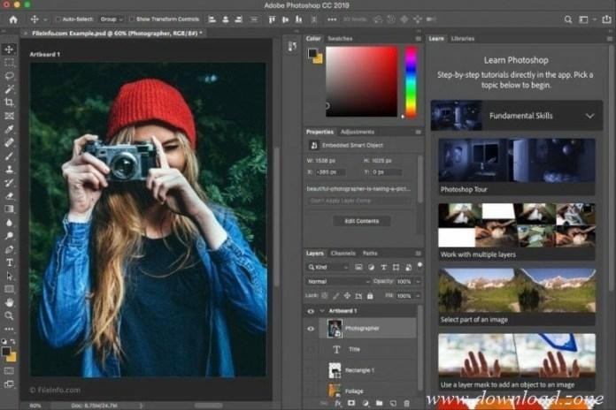 Adobe Photoshop CC 2019 content aware fill