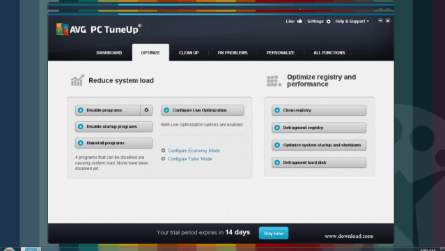 AVG PC Tune Cleaner