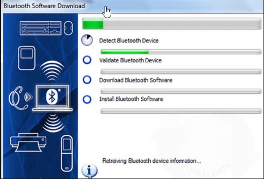 Detect Bluetooth device