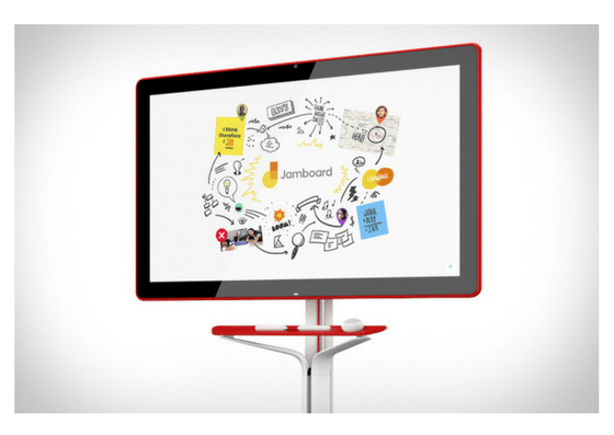 Collaborative Whiteboarding on Jamboard