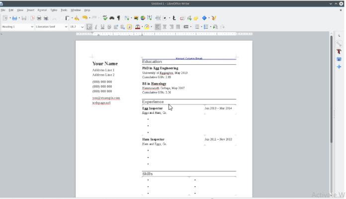 Kubuntu Documents