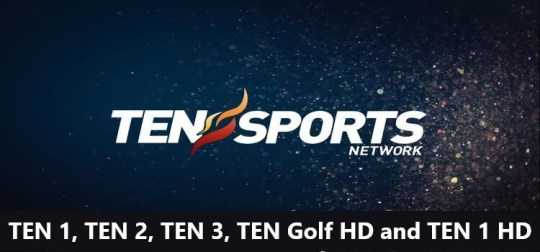 live sports on ten sports