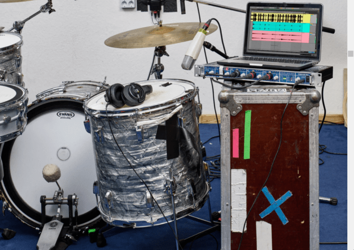Ableton live Software showing Get your ideas into Live