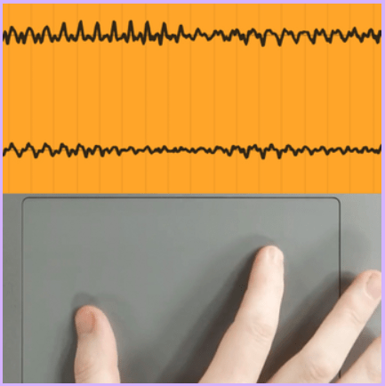 Ableton LIve Software Showing Pinch zooming