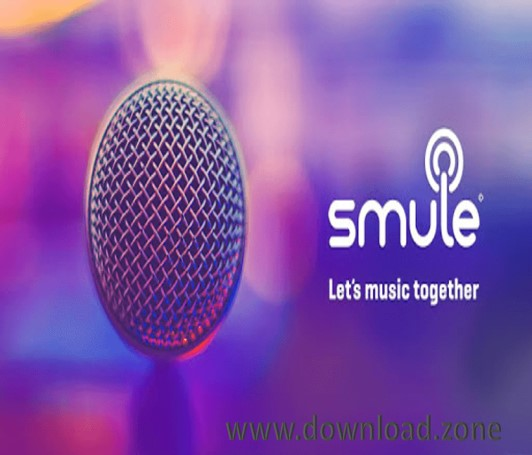 Smule Application for sing and create music on Karoke sound