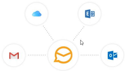 Support for Gmail, Exchange and others