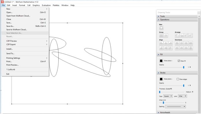 mathematica-drawing tool