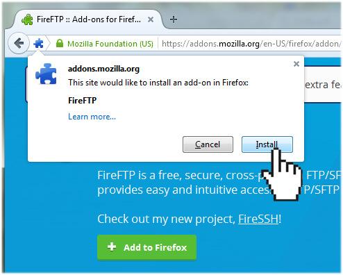 FireFTP-install