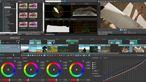 VEGAS Pro- Unified Color Grading workflow