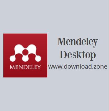 Mendeley Desktop Picture