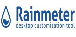 Rainmter-System-Monitor-application