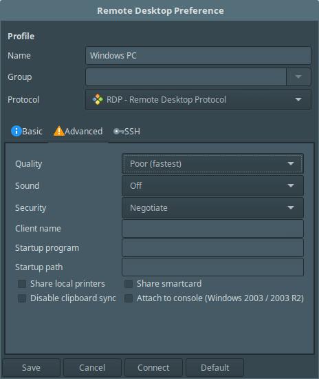 Remmina-Advance-Desktop-Settings