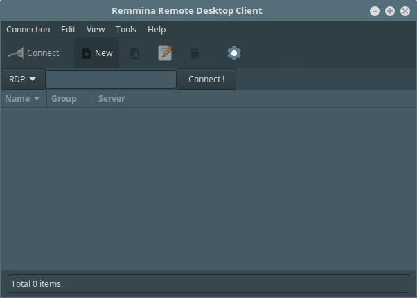 Remmina-Desktop-Sharing-Client